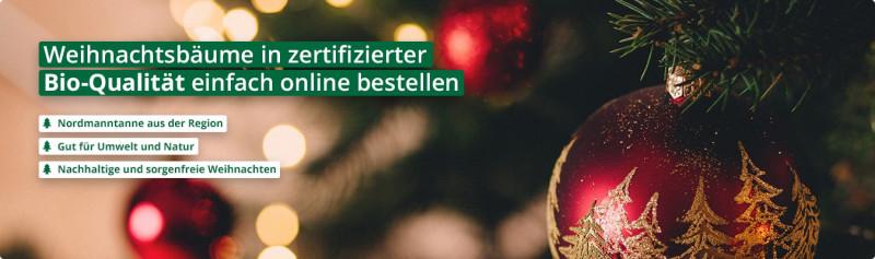 Bio Weihnachtsbaum Online Kaufen Das Tannchen De